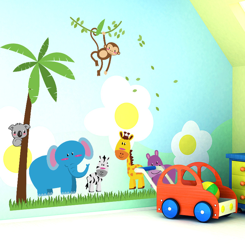 Rainforest Animal Wall Stickers - s Wall Decal