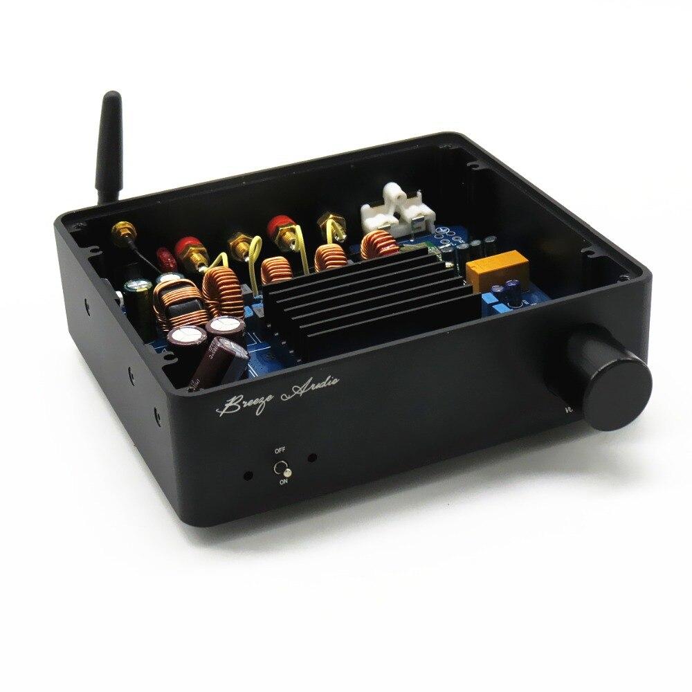 Brise Audio LYTAS561 150 W + 150 w amplificateur de puissance utiliser Bluetooth 4.0 TAS5613 Classe D Amplificateur Interne DC 12 v power boost module