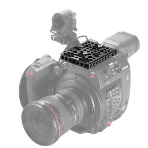 Image 5 - Piastra superiore a sgancio rapido SmallRig per impugnatura originale Canon C200/bracci magici/Kit piastra di montaggio staffa EVF 2056