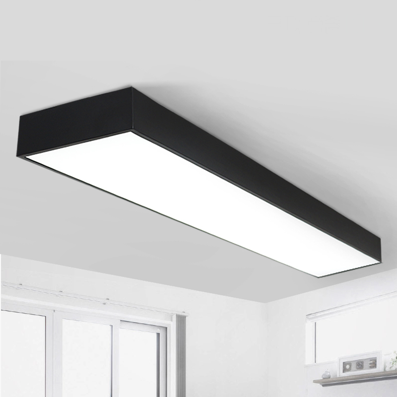 office Ceiling Lights LED Black /white office ceiling office lighting market room studio lighting Ceiling lamps BG9
