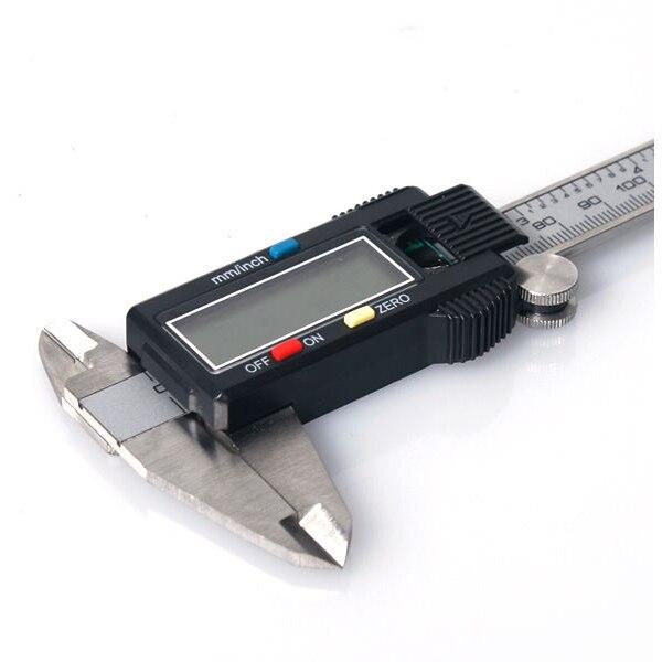300mm 200mm LCD Digital Vernier Caliper Gauge Micrometer Tool Electronic Display