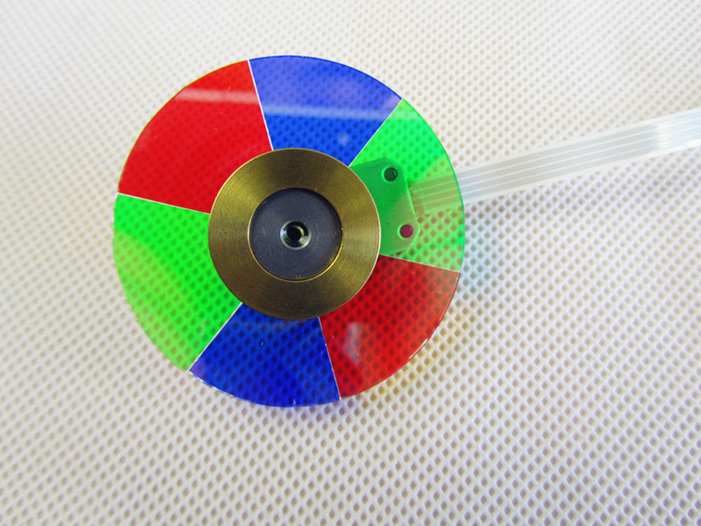 Free Shipping ! NEW original Color wheel For OPTOMA HD33 Projector Color Wheel   1PCS original projector color wheel for optoma ex540i