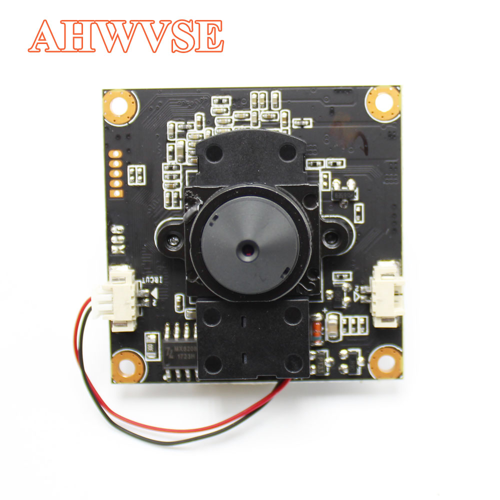 Image 2 - AHWVE Mini DIY IP Camera module Board with IRCUT 1080P 2MP ONVIF H264 Mobile Serveillance XMEYE 3.7mm Lens ONVIF-in Surveillance Cameras from Security & Protection