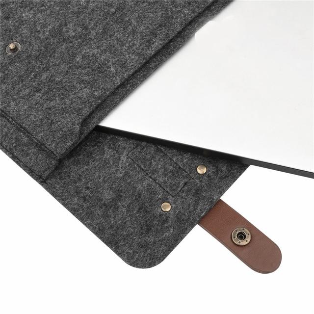 Torba na laptopa notebook MacBook filcowa listonoszka dwa kolory