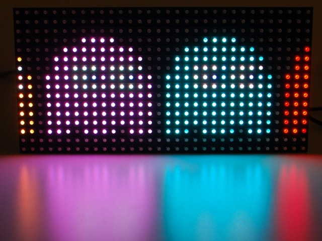 2017 2018 Leeman 16x32 matricial LEVOU Módulo P6 SMD RGB --- 3 chips de 5050 levou módulo smd p6 smd exterior levou módulo