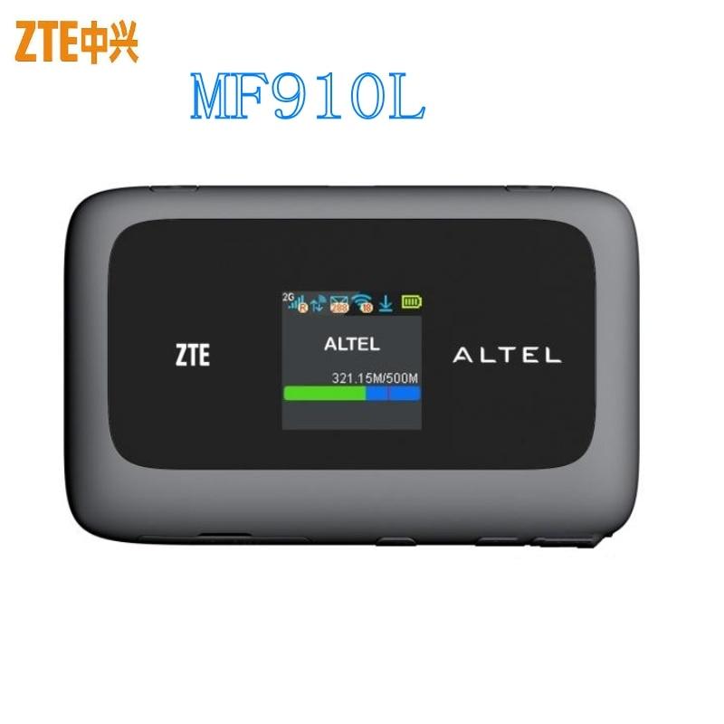 Unlocked 4G Modem ZTE MF910 MF910L 4G LTE WIFI Router 4G Dongle Mobile Hotspot PK E5573CS-322 E5577CS-321