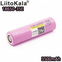 Liitokala INR18650-35E original 3500mah power lithium-batterie 10A entladung 18650 35E 3,7 V wiederaufladbare 3500 große kapazität