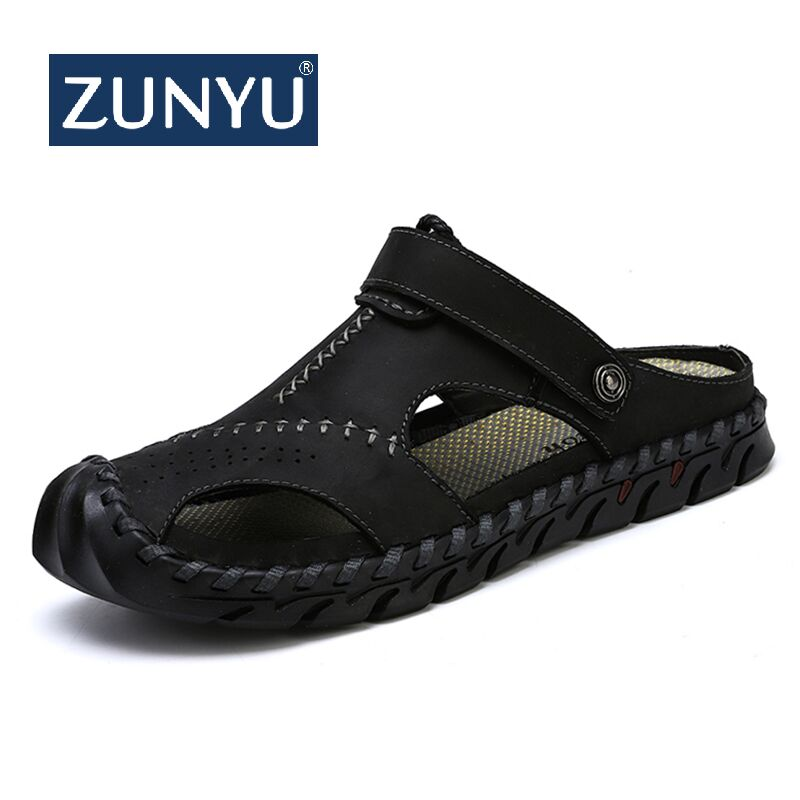 Dashing Men Sandals Brand Summer Sandals Men Outdoor Beach Slippers Walking Sneakers Male Moccasins Rome Rubber Sole Casual Shoes 38-47 Men's Sandals Shoes