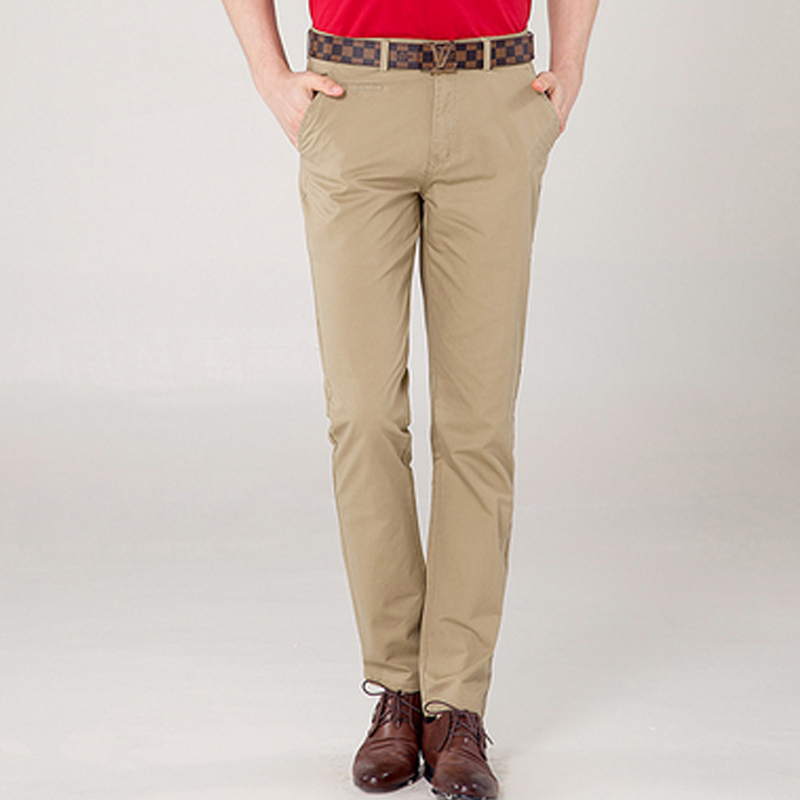 Popular Slim Fit Khaki Pants for Men-Buy Cheap Slim Fit Khaki ...