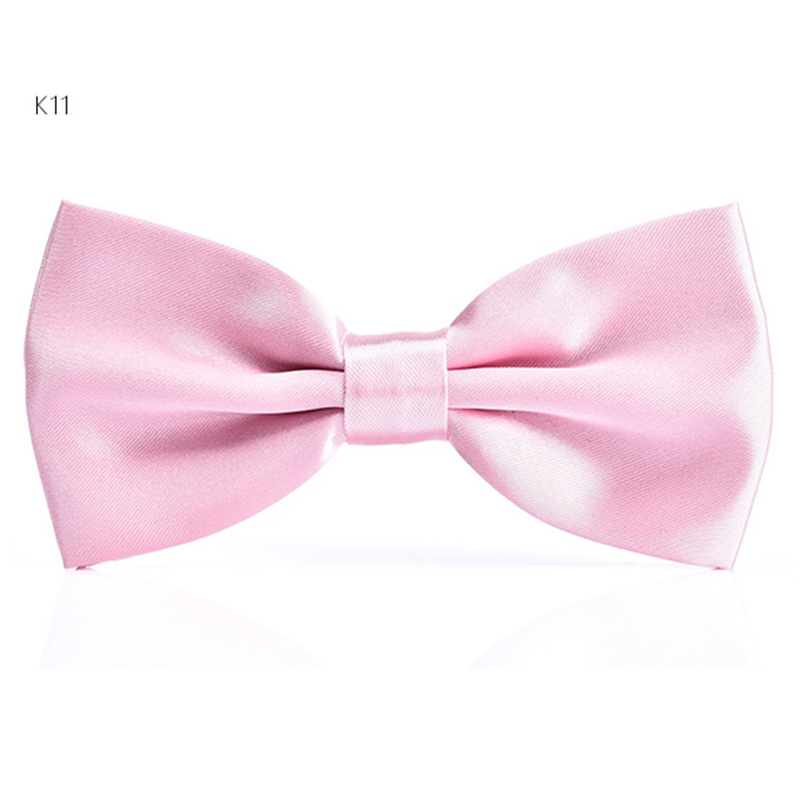 Fashion Bow Ties Men's Tuxedo Classic Solid Color Wedding Party Red Black White Green Pink Blue Butterfly Cravat P3