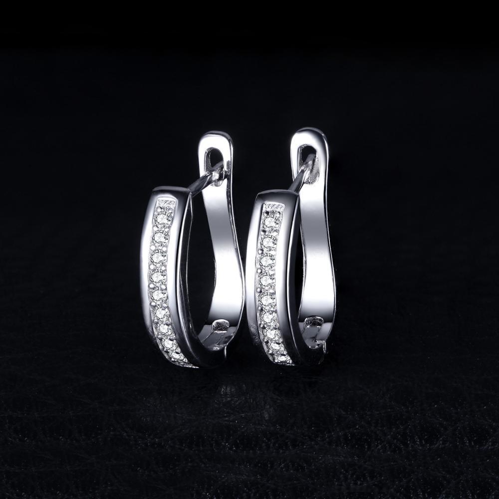 SmykkerPalace CZ øreringe i øreringe 925 sterling sølvøreringe - Mode smykker - Foto 3