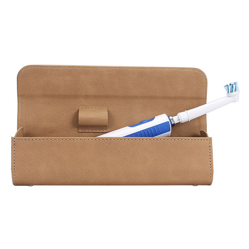 Magnetic Portable Travel Case Cover Storage Bag for Oral-B Philips Electric Toothbrush or Make Up Brush image