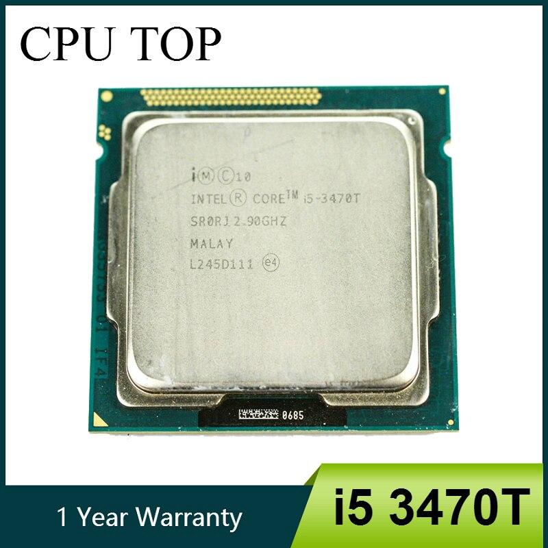 Intel Core i5 3470T Processor 3M Cache 2 9GHz 35W LGA1155 Desktop CPU