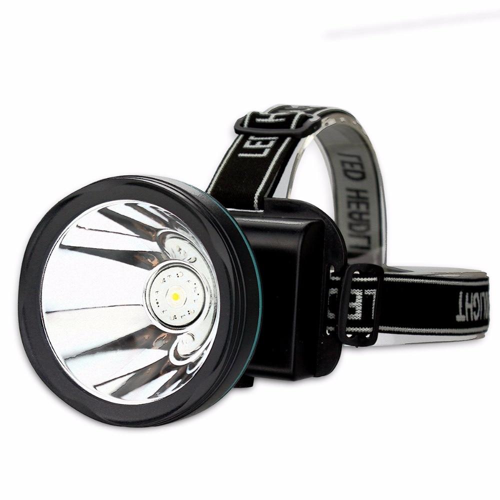 SKYFIRE suure võimsusega veekindel LED-esilatern klassikaline esilaterna laetav aku peavalgusti valgustus Taskulamp Torch