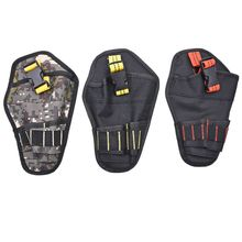 Electrician Waist Pocket Tools Belt Pouch Bag Screwdriver Kit Holder Tool Bags цена