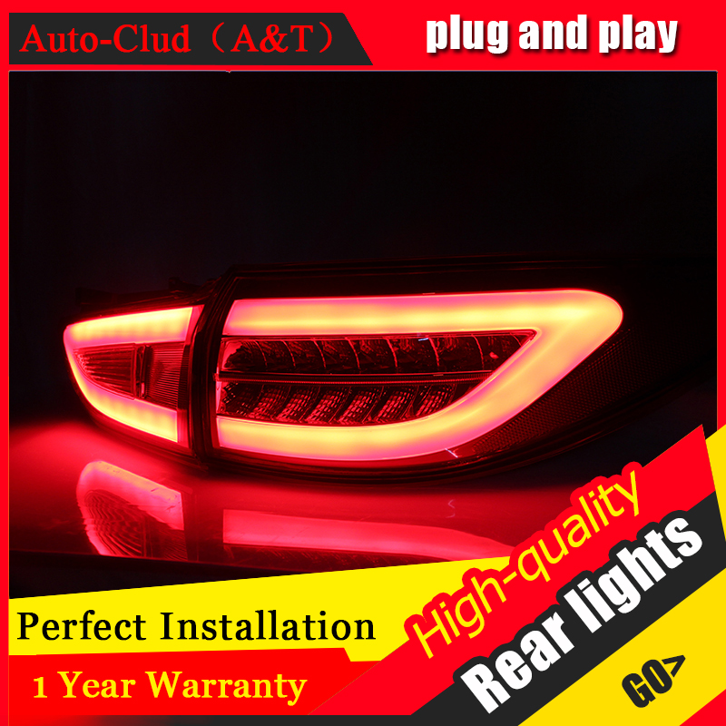 Car Styling Accessories for Mazda 6 LED Taillights 2013 2016 Mazda6 Tail Lamp Rear Lamp DRL+Brake+Park+Signal led lights.