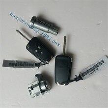 Completo núcleo de bloqueio planta original qualidade chave do interruptor de ignição para controlar o controle remoto Adequado Chevrolet cruze 96961138
