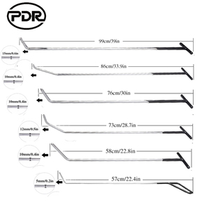 PDR Hook Tools Push Rods Dent