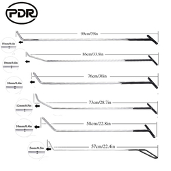 PDR Werkzeuge Stangen Haken Frühling Stange Kit Paintless Dent Entfernung Auto Dent Reparatur Auto Repair Tool Set Auto Tür Hagel dent Entfernung