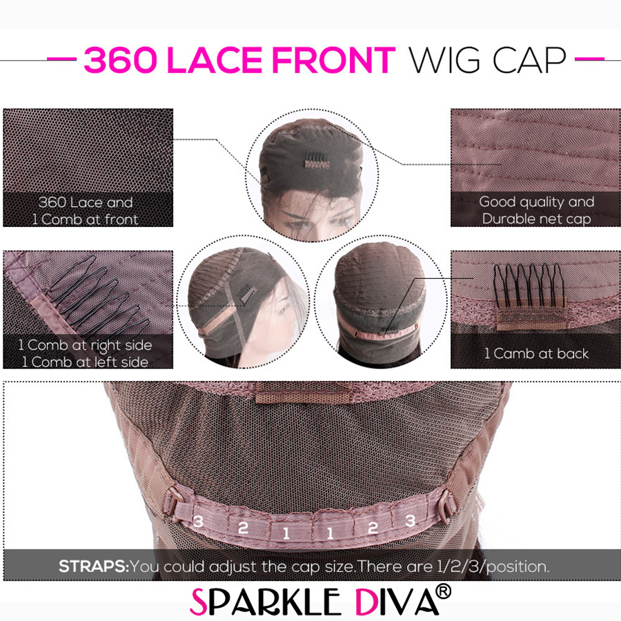 Image 3 - 360 Lace Frontal Wig Kinky Straight Lace Wig Brazilian Human Hair Wigs 150% Density Remy Lace Frontal Human Hair Wigs For Women-in Human Hair Lace Wigs from Hair Extensions & Wigs