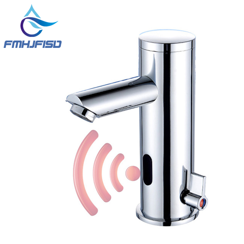 Automatic Sense Faucet Water Saving Brass Chrome Faucet Hot and Cold Water Mixer Tap sense and sensibility