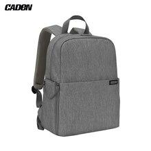 CADeN L4 dslr kamera sırt çantası çantası durumda seyahat omuz çantası darbeye dayanıklı Canon Sony Nikon SLR kamera lensleri tripodlar dizüstü bilgisayar