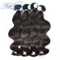 New Star Peru Virgin Hair Ciało Fala 4 Wiązek Grubości Ludzkiego Włosa Rozszerzenie Splot Naturalny Kolor Nieprzetworzone Surowe Włosy Tkania