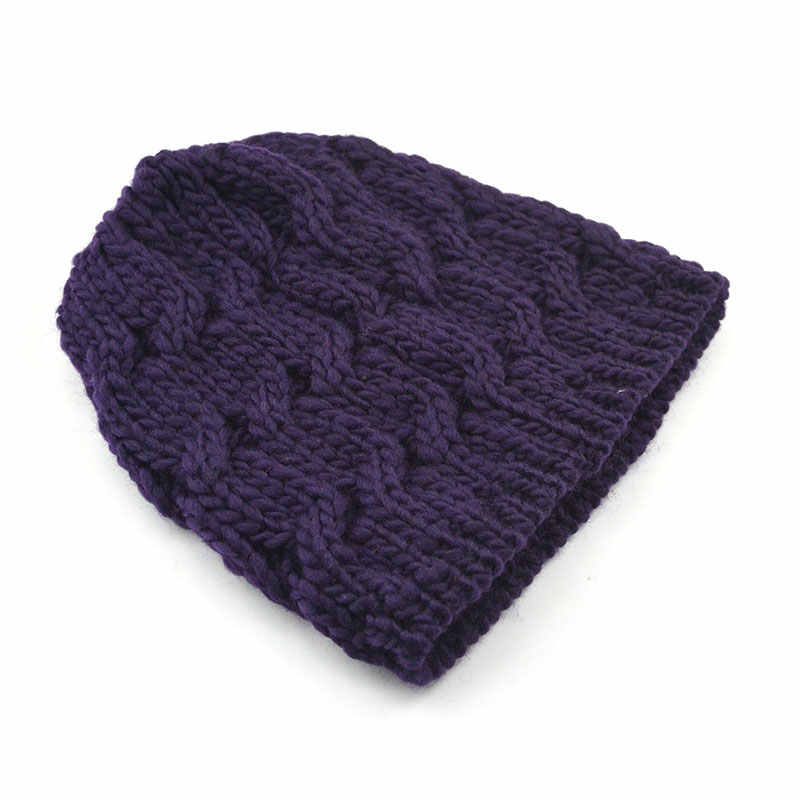 ... Korean Style Winter Beanie Hat Ladies Cable Knit Hats Womens Cheap  Beanies Skullies Cap Toque Gorros ... 6e529a48cf44