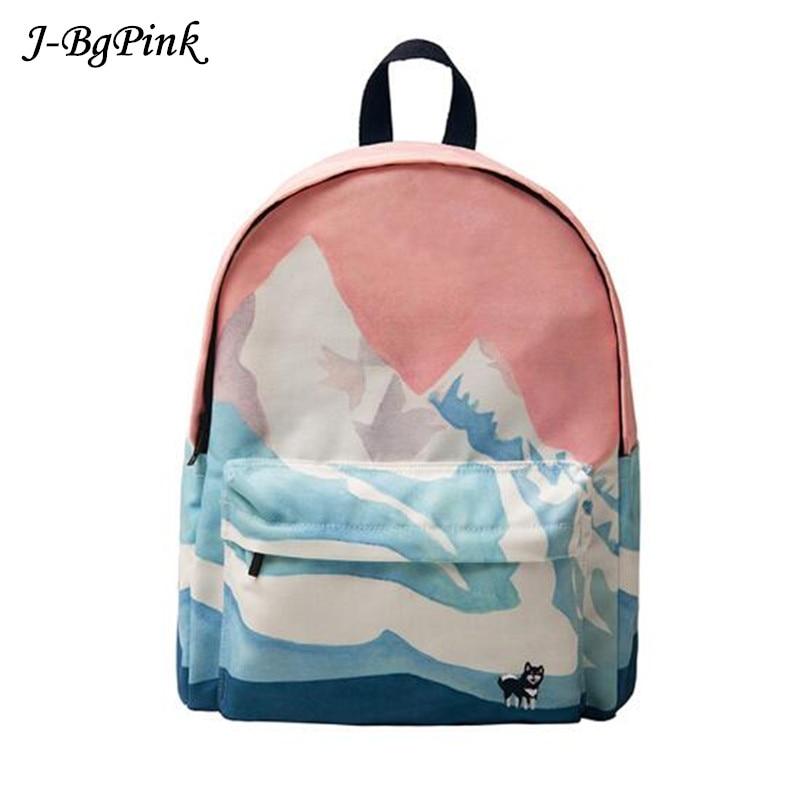 YIZI Original designed backpacks with digital printing and embroidery unisex