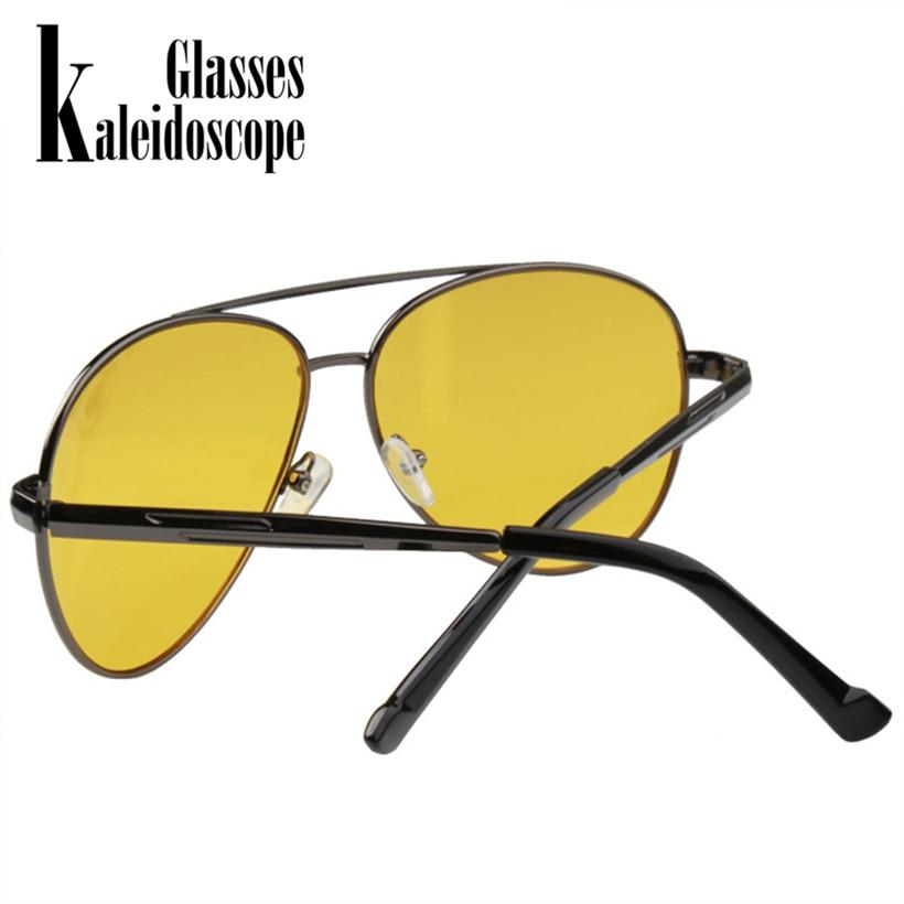 98bacf522b Kaleidoscope Glasses Night Vision Glasses Men Driving Yellow Lens Sunglasses  Anti Glare Vision Driver Safety Glasses for Men-in Sunglasses from Apparel  ...