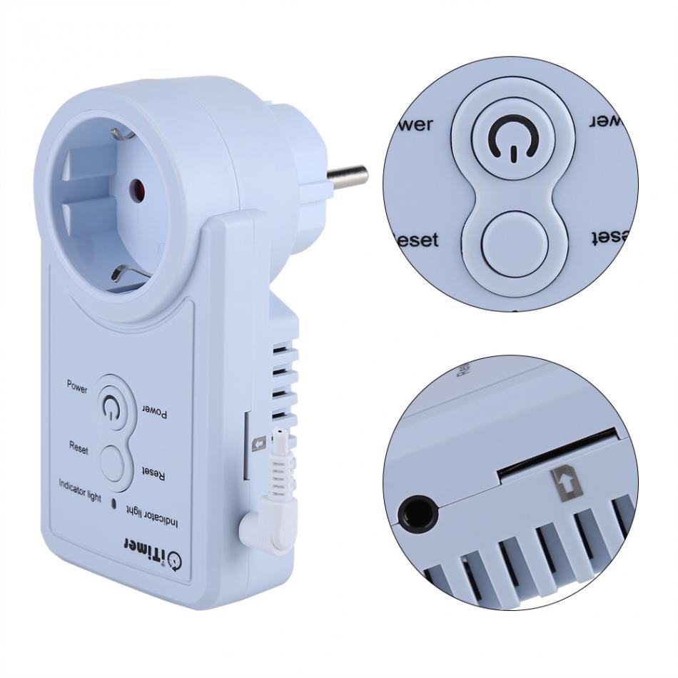 Prise de courant intelligente GSM avec capteur de température contrôle de commande SMS accessoires de Version russe - 5