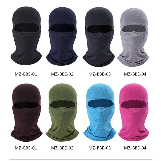 HEROBIKER Summer Motorcycle Face Mask Moto Balaclava Ski Mask Ghost Skull Biker Breathable Face Shield Motorcycle Mask, 8 Colors 5