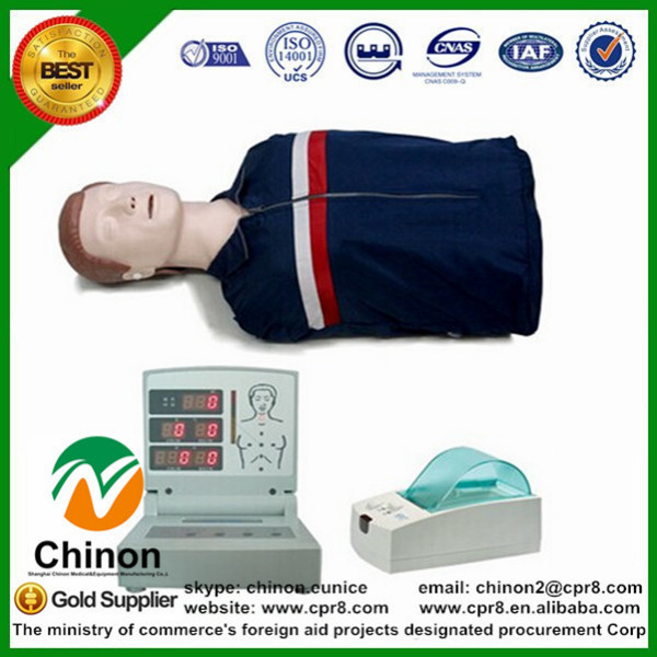 BIX/CPR260 Advanced Adult Half Body Cpr Training Manikin W030 bix cpr100b half body cpr training manikin adult half body cpr manikin model 076