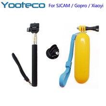 Для gopro аксессуары монопод штатив bobber плавающей ручной ручной стик для gopro 5 sjcam sj4000 enek h9 действий камеры