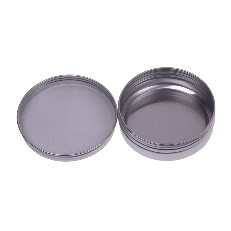 Leere Behälter 100 Ml 5 stücke Kosmetische Nachfüllbar Creme Behälter Lip Gloss Aluminium Make-Up Fall Leere Kosmetische Gläser Gläser #52642