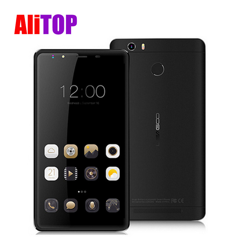Original Leagoo Shark 1 4G LTE Mobile Cell Phone 6.0″ FHD 2.5D Screen Android 5.1 3GB 16GB 64bit MTK6753 Octa Core 13MP Touch ID