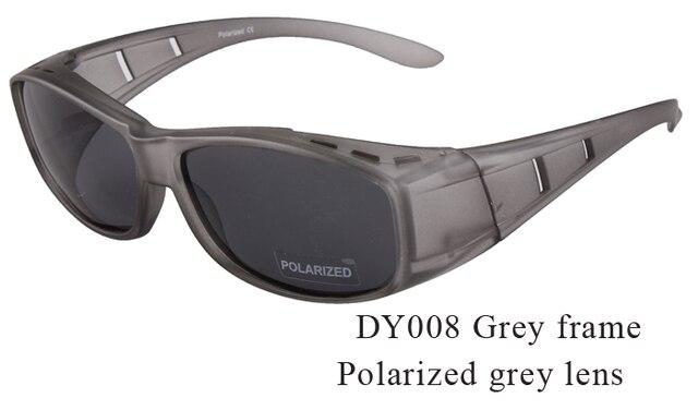 Protection solaire sur les lunettes convient à la plupart des lunettes de myopie lunettes de soleil polarisées livraison gratuite homme femmes couverture lunettes de prescription UV400