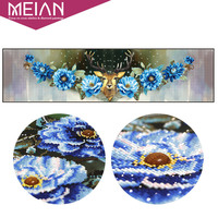 Meian Special Shaped Diamond Embroidery Flower Animal Deer DIY Diamond Painting Cross Stitch Diamond Mosaic Bead
