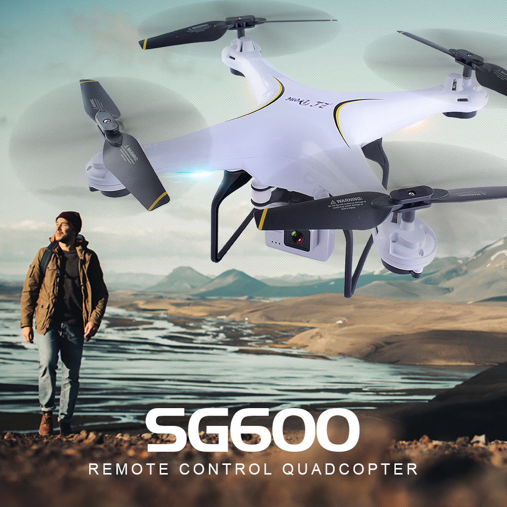 SG600 RC Drone with WIFI FPV Camera Quadcopter Auto Return Altitude Hold Headless Mode RC Helicopter VS X5HW X5SW E58 XS809W wltoys v686g 4ch 5 8g fpv real time transmission 2 4g rc quadcopter with 2 0mp camera headless mode auto return function us plug