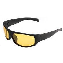 Желтые линзы поляризованные солнцезащитные очки для мужчин ночного видения очки для рыбалки вождения Oculos De Sol Masculino