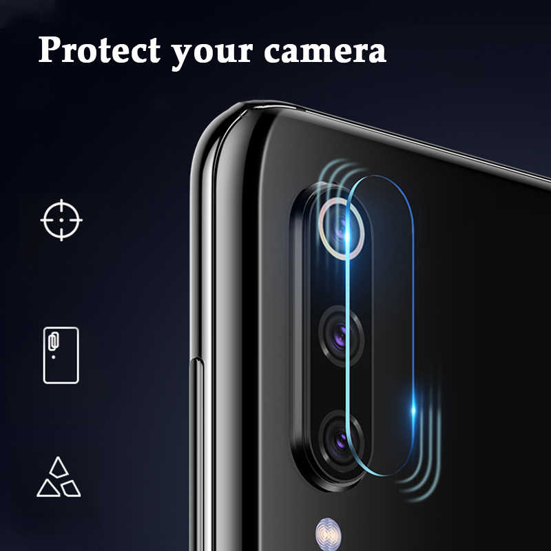 عدسة الكاميرا واقٍ زجاجي مقسى لـ Xiao mi A1 A2 A3 Lite CC9 CC9e 8 9 SE 9T Pro 5X mi 6 mi 8 mi 9 mi 9t a2lite a3lite Film