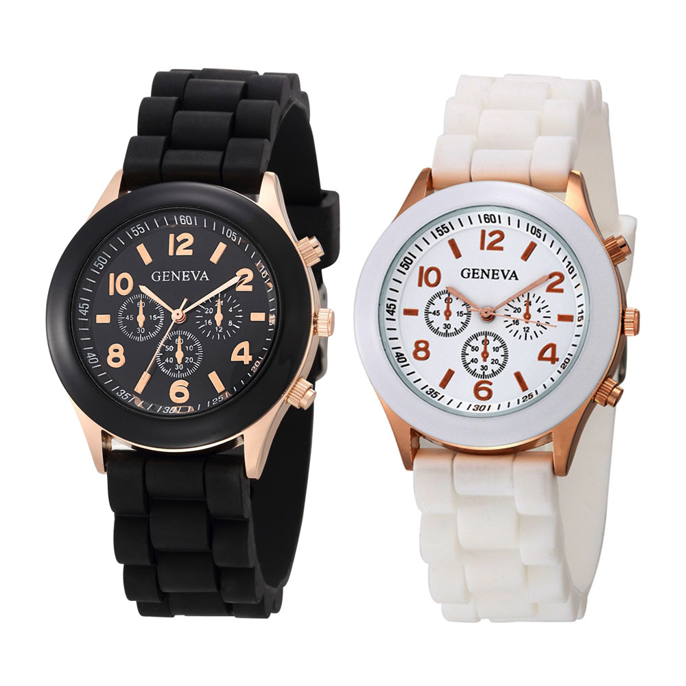2020 New Watches Women Luxury Brand Fashion Casual Quartz Wristwatch Jelly Silicone Strap Lady Watch Relogio Feminino