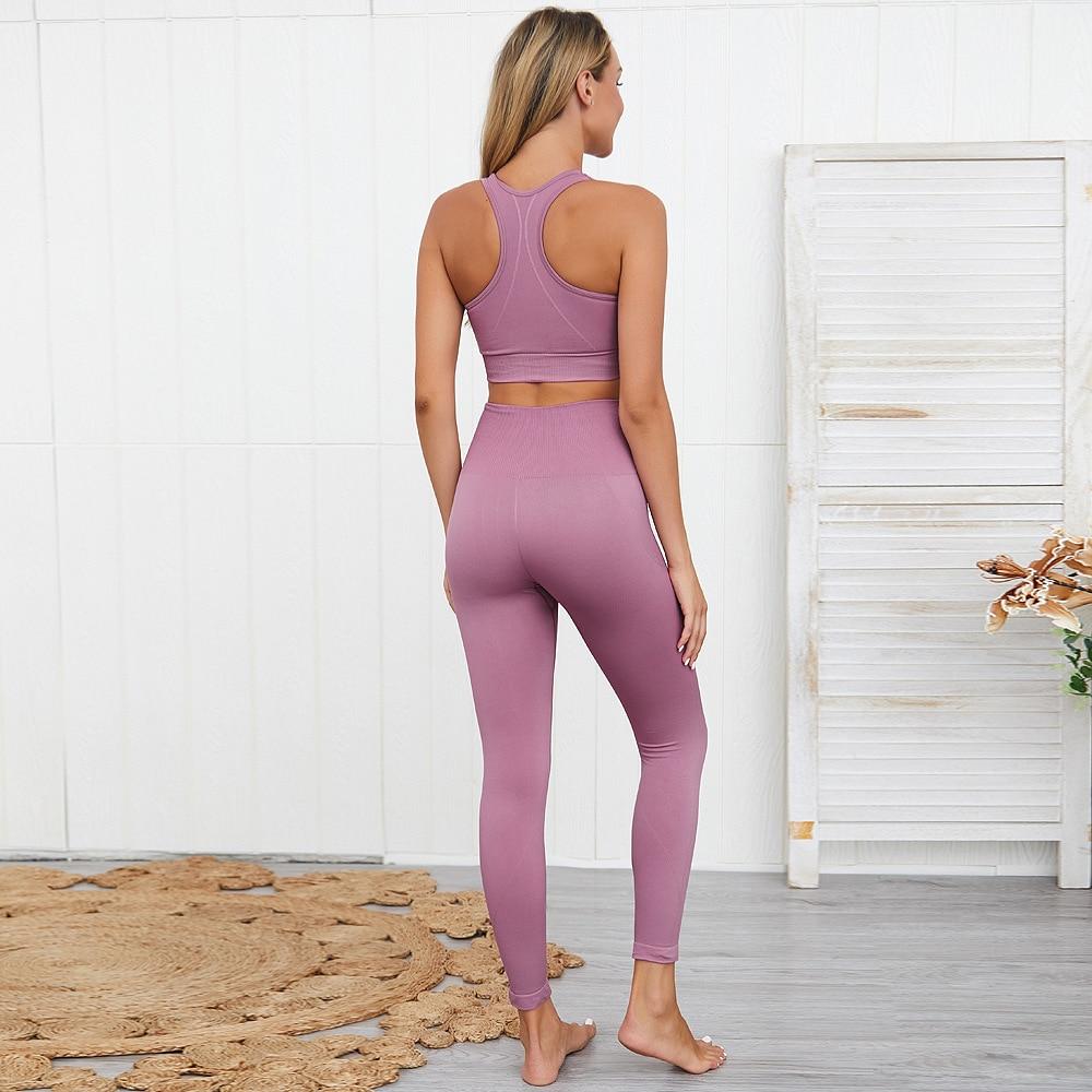 sport femmes Leggings + soutien-gorge 2 pièces