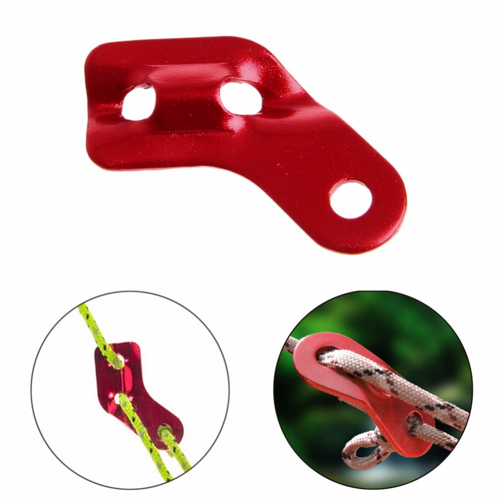 Alloy Tent Rope Buckles Tent Kit Camping Hiking Traveling Accessories Outdoor new