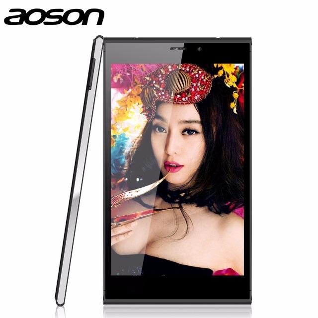 Aoson m706t 3g chamando tablet pc android 4.4 mtk8382 quad Core 1.3 GHz Câmeras Dual Bluetooth Wifi IPS Tablette 7 Pouces preto
