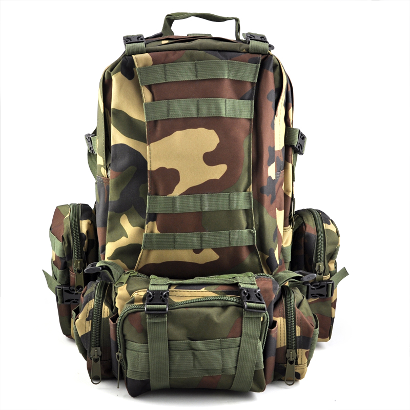 ФОТО TEXU Cool man 50L Military backpack Rucksacks shoulder bags bag