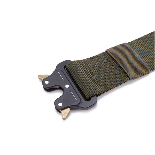 FRALU 2018 Hot Mens Tactical Belt Military Nylon Belt Outdoor multifunctional Training Belt High Quality Strap ceintures 4