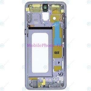 Image 2 - LCD Front Khung Trung Nhà Ở Bezel Chassis Cho Samsung Galaxy A8 2018 A530 Trở Lại Tấm Mặt Với Nút Bấm Bên Các Bộ Phận