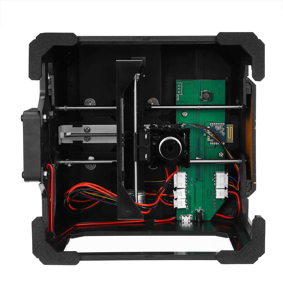 bluetooth Control 3000mW Professional DIY Desktop Mini CNC Laser Engraver Cutter Engraving Wood Cutting Machine Router 110 220V - 5
