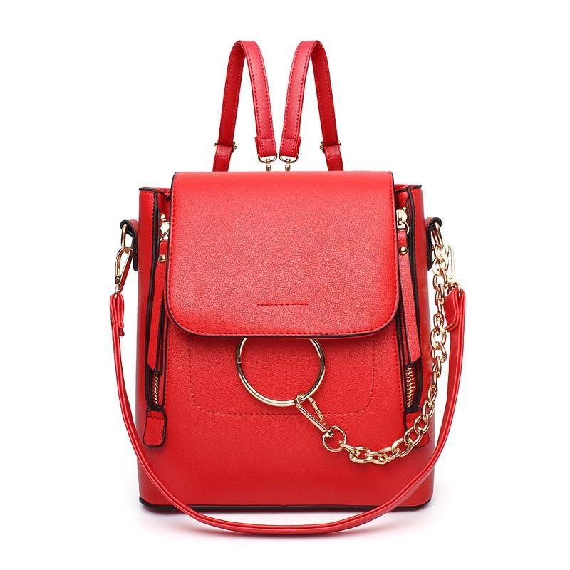 2019 Fashion New Women Backpacks Woman Multi-purpose Shopping Backpacks Shoulder Messenger Corssbody Bag For Teenagers 984